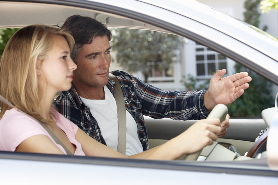 Top 10 tips for teaching your teenager to drive