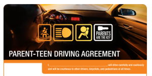 eyez up app, parent teen driving agreement